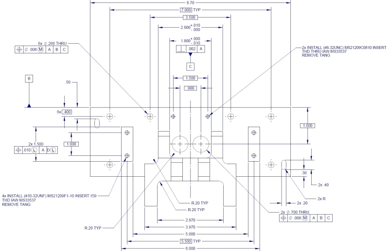 ASME YM - Dimensioning and Tolerancing