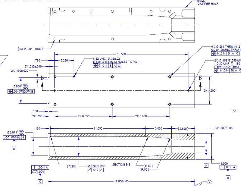 Asme Y145m 1994 Drawing Samples